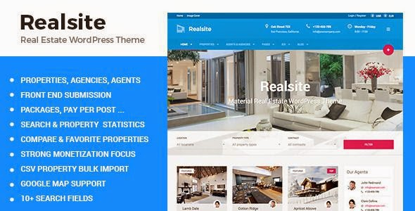 Best Responsive Real Estate WordPress Theme