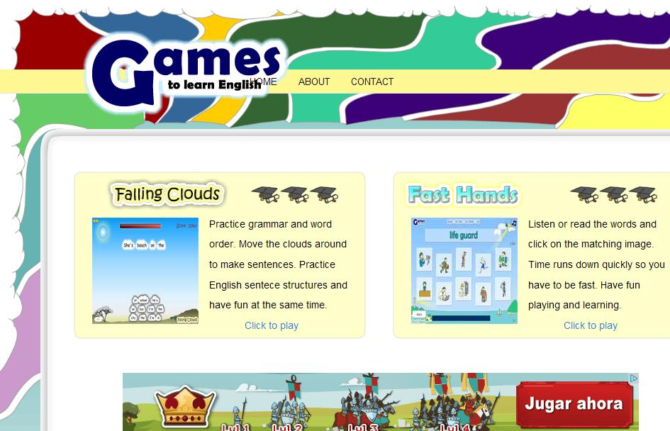 Games To Learn English Langcentre Blog