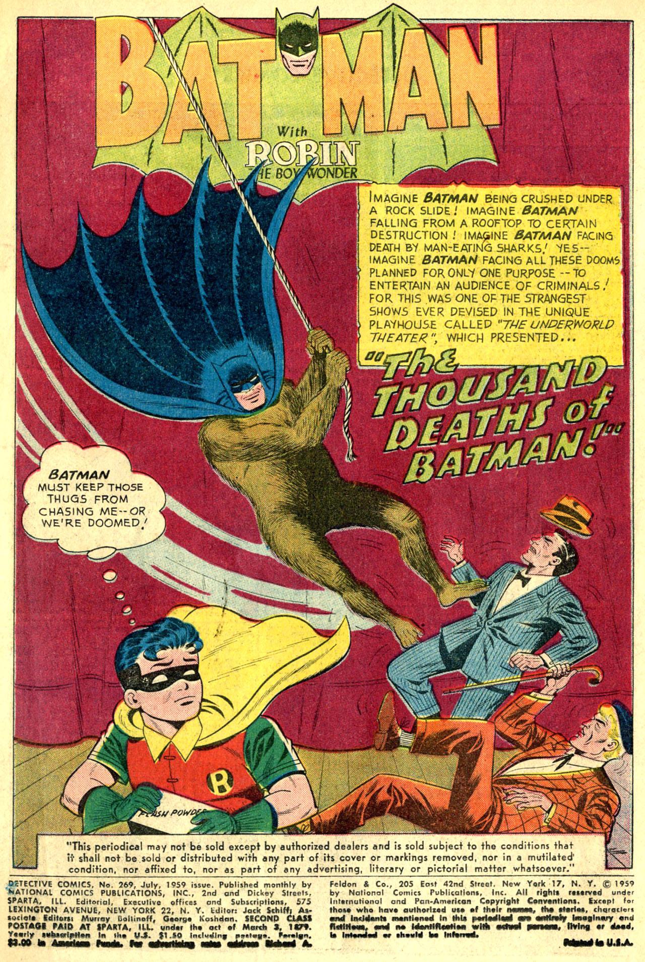 Detective Comics (1937) 269 Page 2