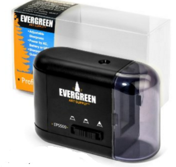 evergreen art supply  pencil sharpener