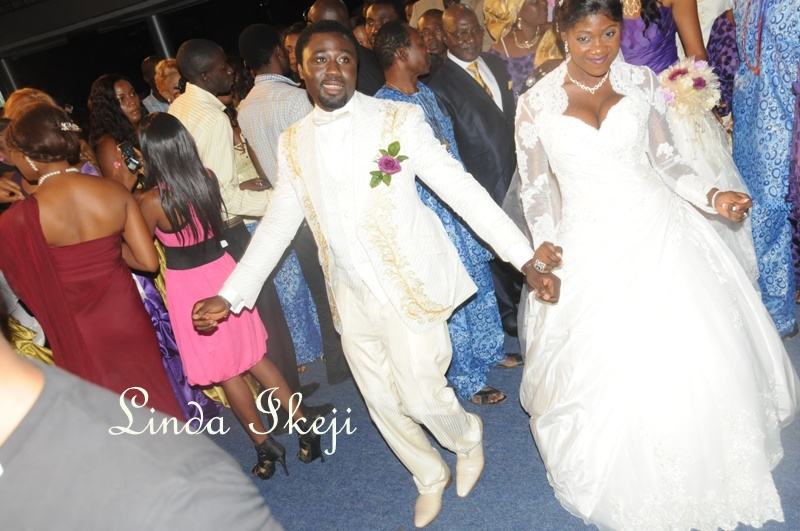 Photos From Mercy Johnson And Prince Odi