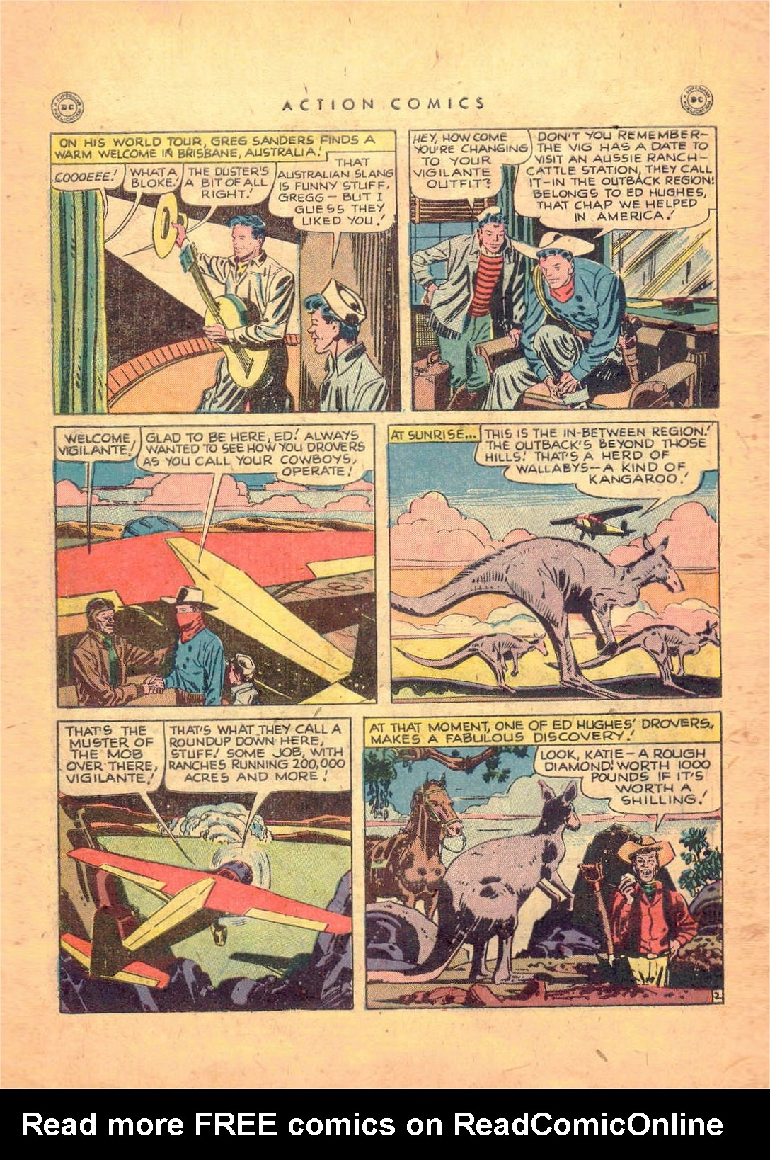 Read online Action Comics (1938) comic -  Issue #124 - 44