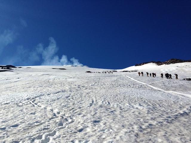 Subida do Vulcão Villarica Chile