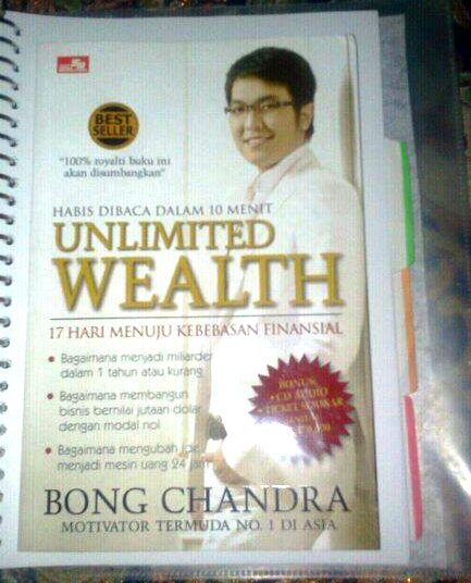 Ebook Unlimited Wealth Bong Chandra