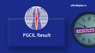 PGCIL AE Result