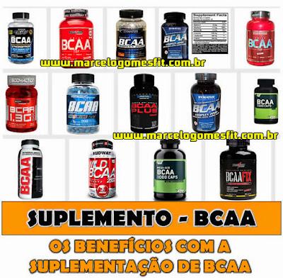 Suplementação - BCAA