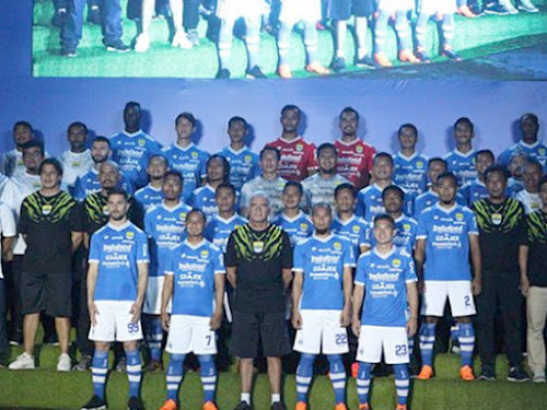 Jadwal Pertandingan Persib di Go-Jek Liga 1 Musim 2018 Putaran 1