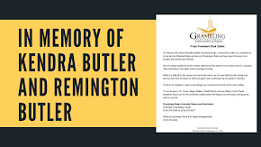 Grambling State University offers condolences to tornado victims - Grambling student Kendra Butler and son Remington