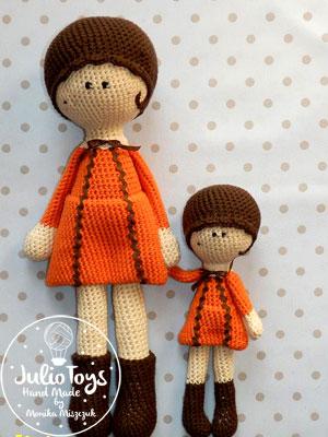 Tola Lola Julio Toys Crochet Patterns Amigurumi