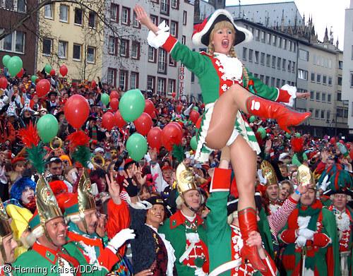 Karneval upskirt