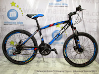 tengah element xc100 21 speed 24 inci sepeda gunung remaja