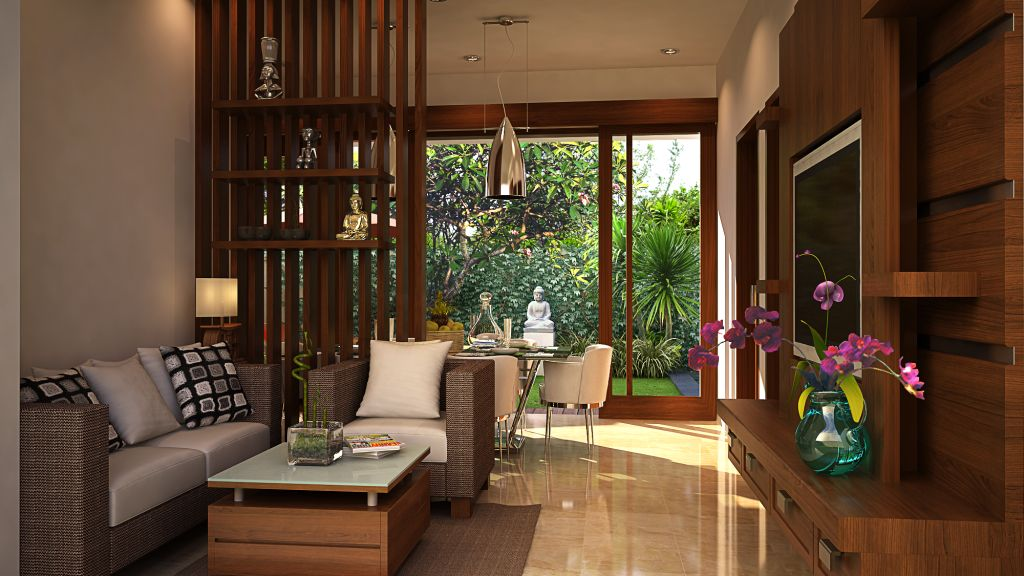 Interior Ruang Tamu Kayu The Of Living Room Wood Home Decor