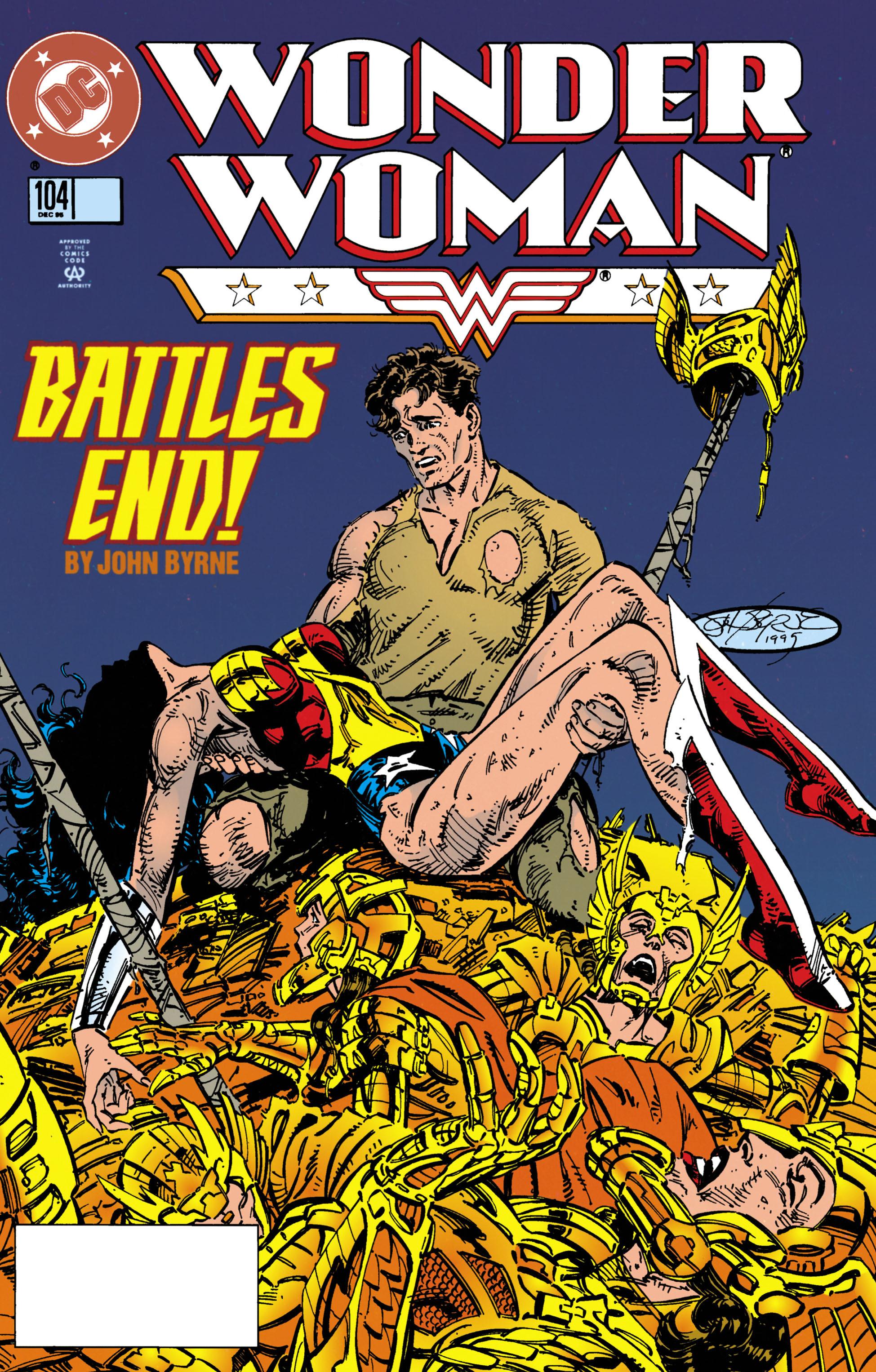 Read online Wonder Woman (1987) comic -  Issue #104 - 1