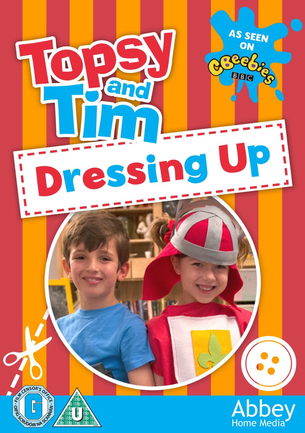 Topsy and Tim Dressing Up DVD
