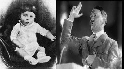 En esta fotografía podemos ver a Hitler cuando era un niño