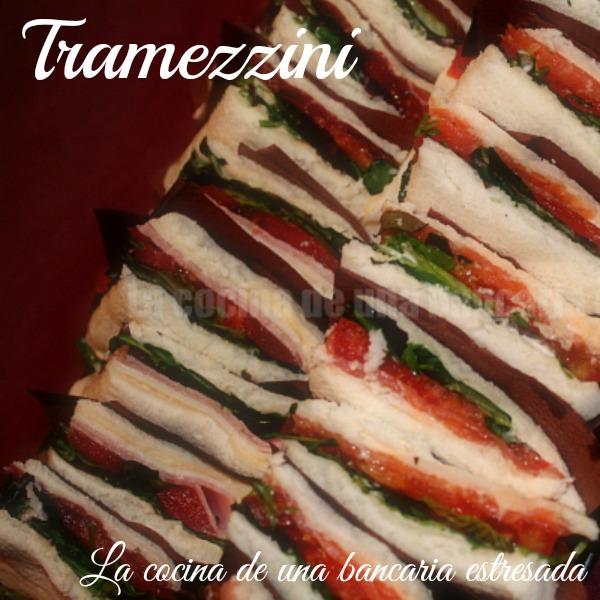 Receta de Tramezzini, receta paso a paso y con fotografías