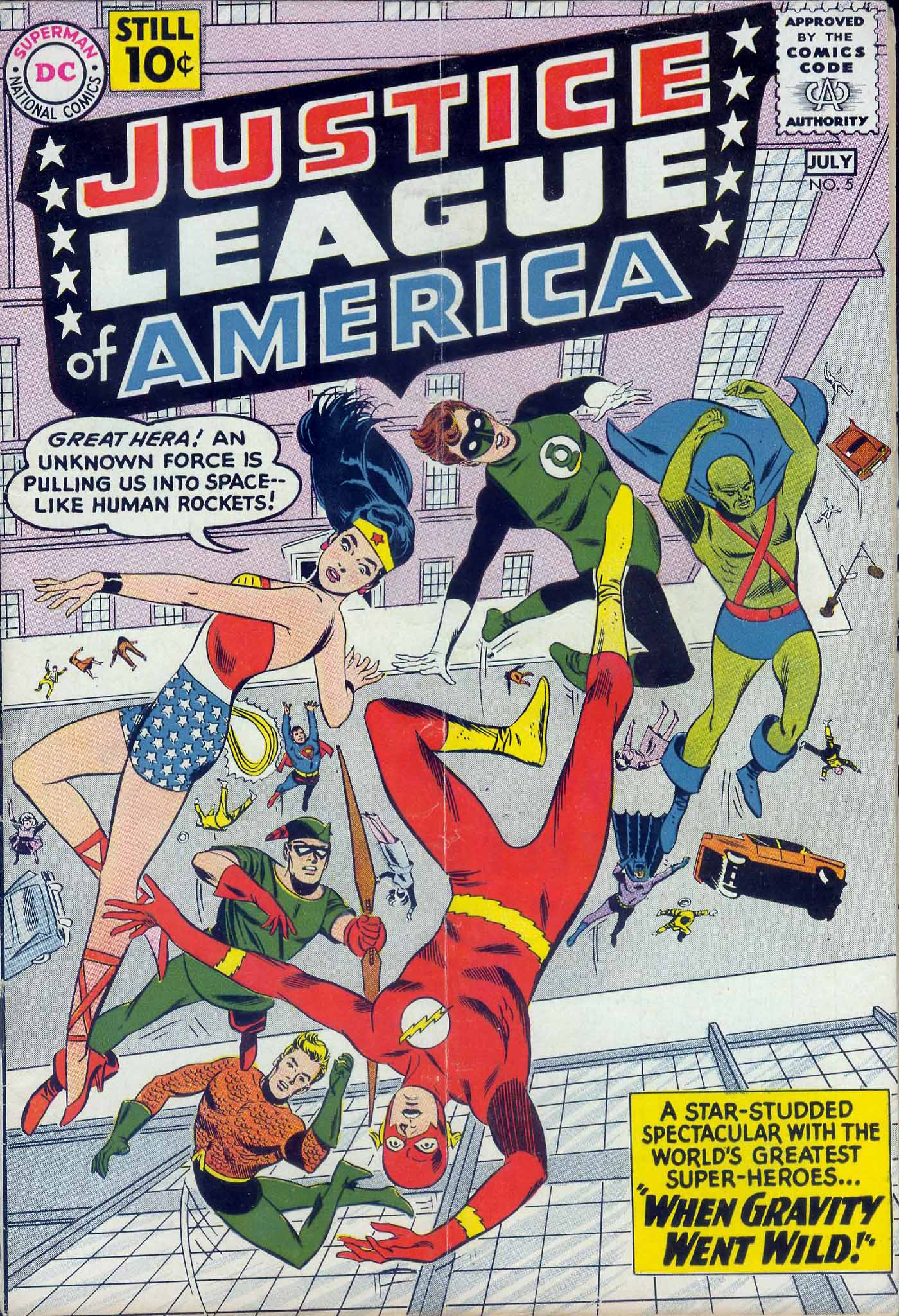 Justice League of America (1960) 5 Page 1