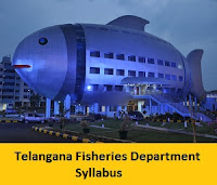 Telangana Fisheries Department Syllabus
