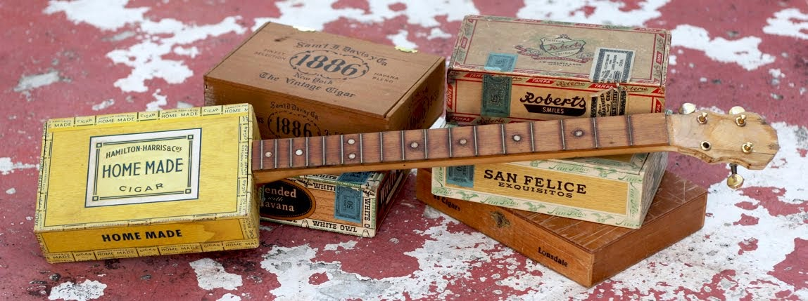 Homemade Guitars - Blues History & Cigar Box Guitars