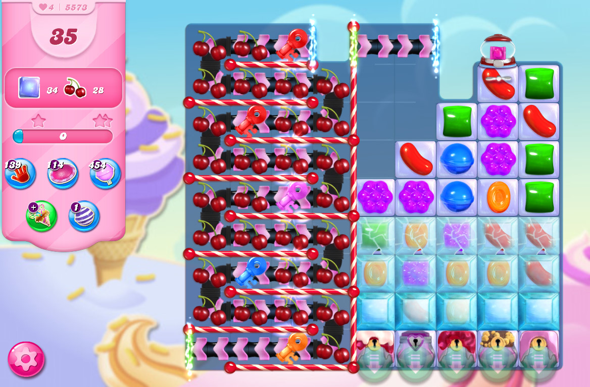 Candy Crush Saga level 5573