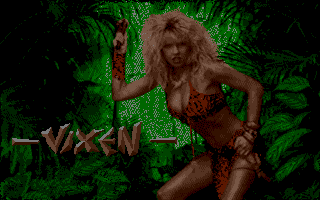 Vixen Amiga title screen