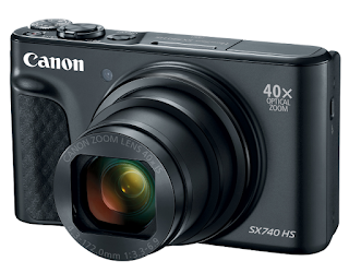 Canon PowerShot SX740 HS Camera PDF User Guide / Manual