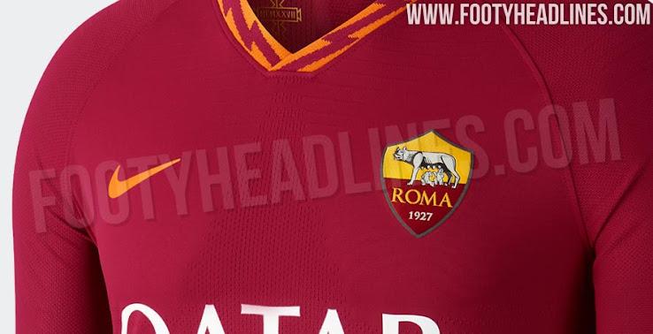 Nike AS Roma 19-20 Home Kit Leaked - Footy Headlines 9c501bd82