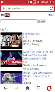 Cari vidio youtube