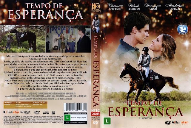 Capa DVD Tempo de Esperança (Oficial)