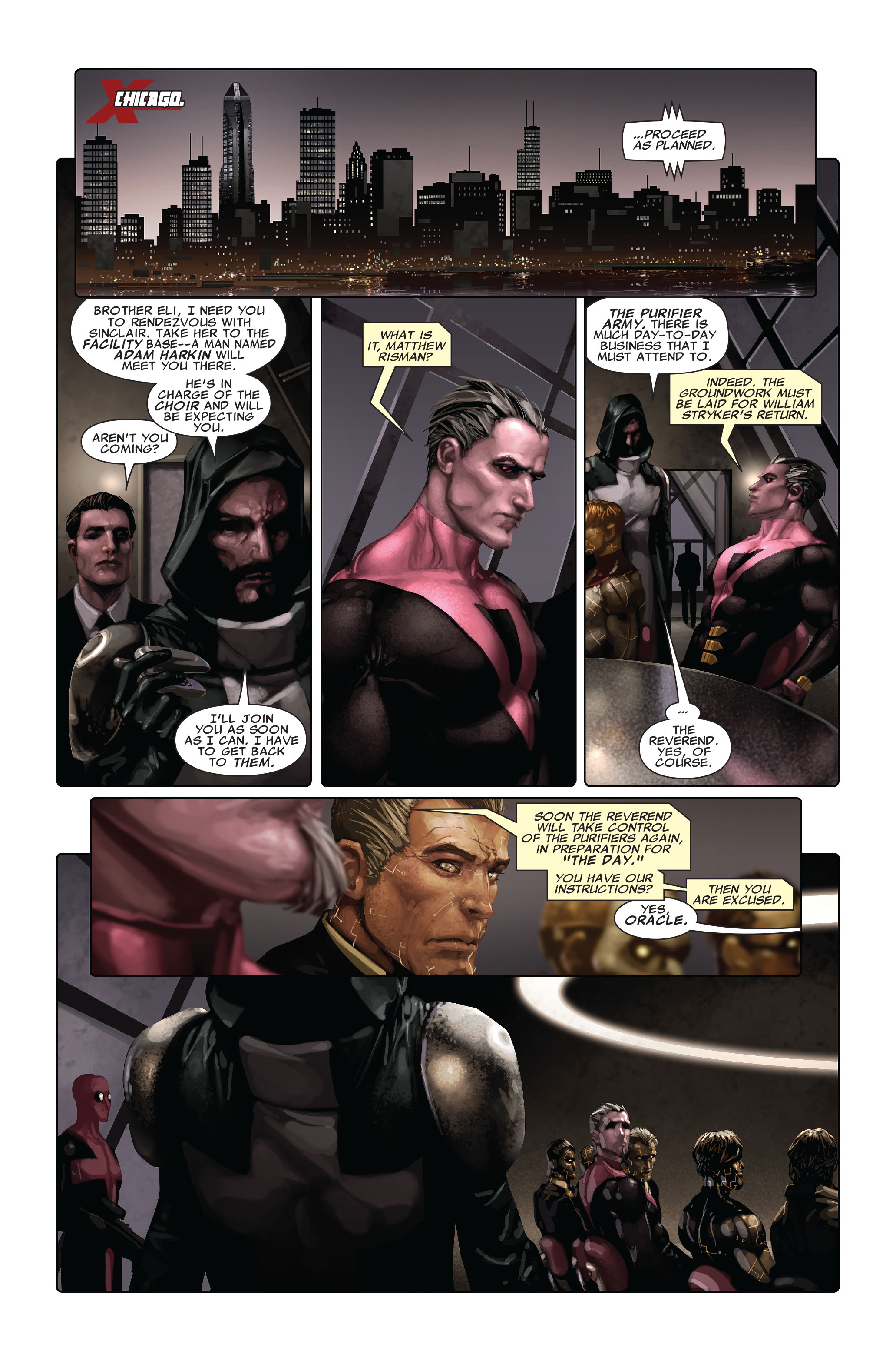 Read online X-Force (2008) comic -  Issue #4 - 12