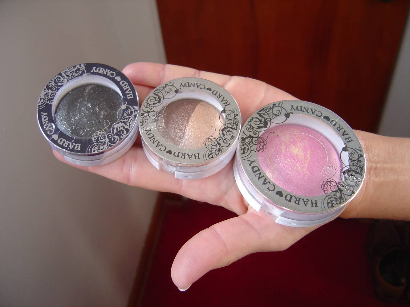 Hard Candy Cosmetics Meteor-Eyes Baked Eyeshadow, Baked Eyeshadow Duo, Baked Blush