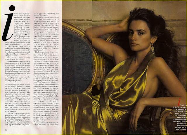 spanish actress Penelope Cruz pictures