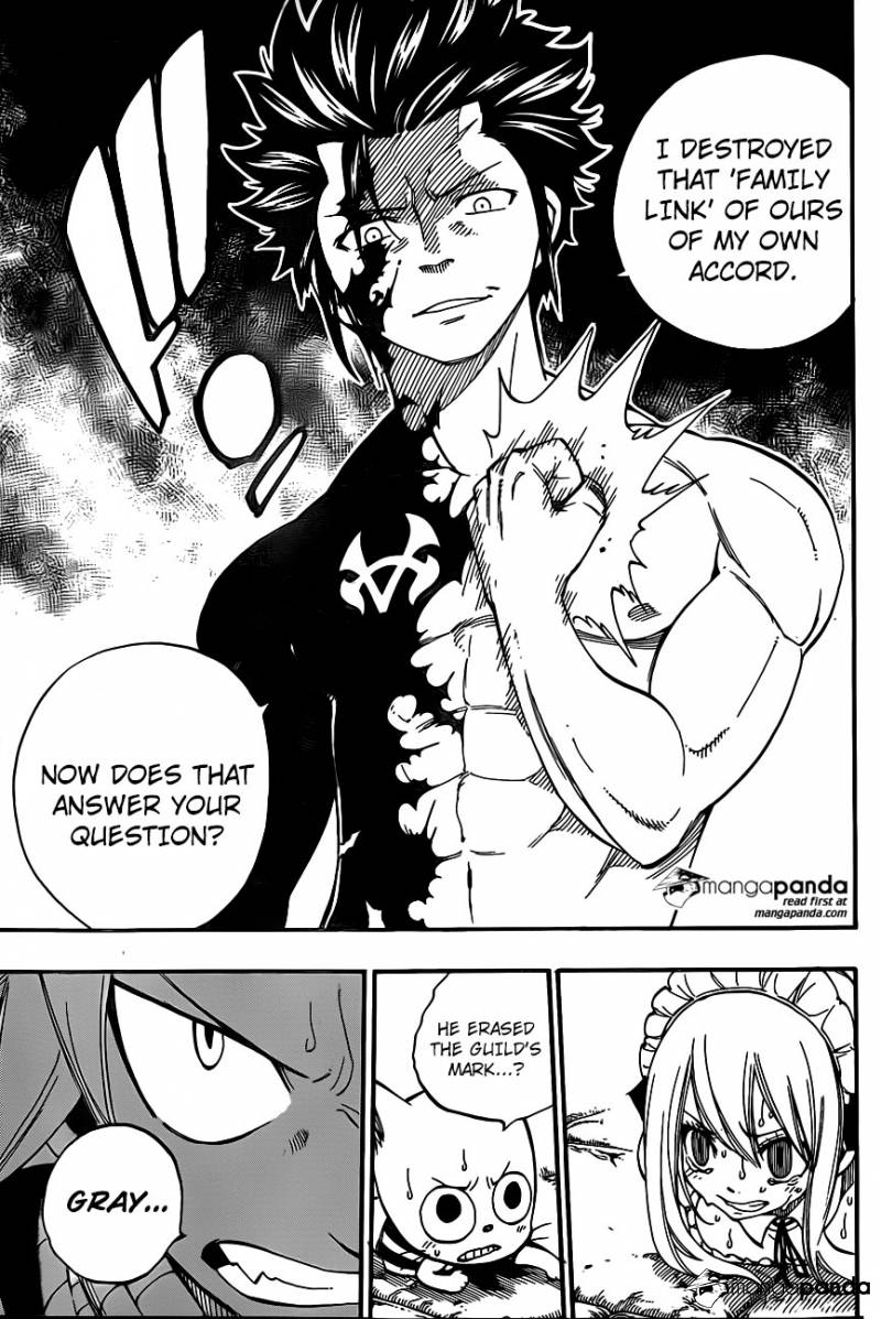 Fairy Tail Ch 428: If our paths are different...