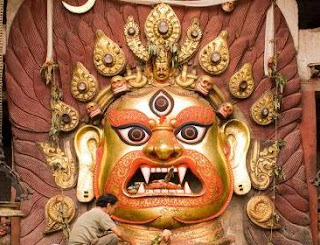 Image of Akash Bhairav - God of Sky