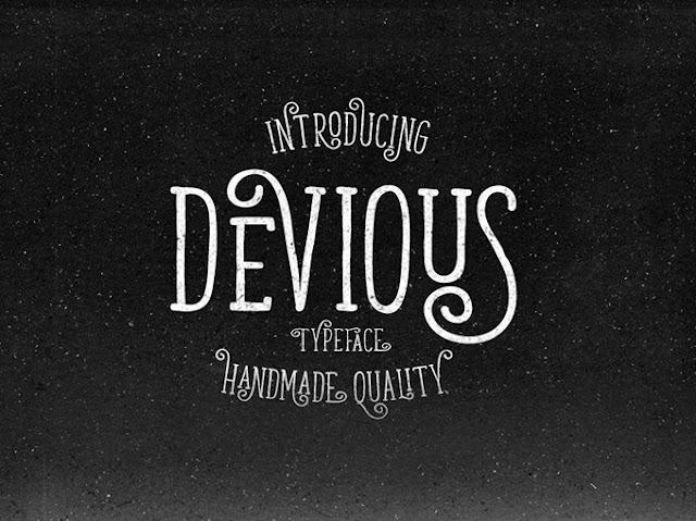 Devious, tipografía retro gratuita
