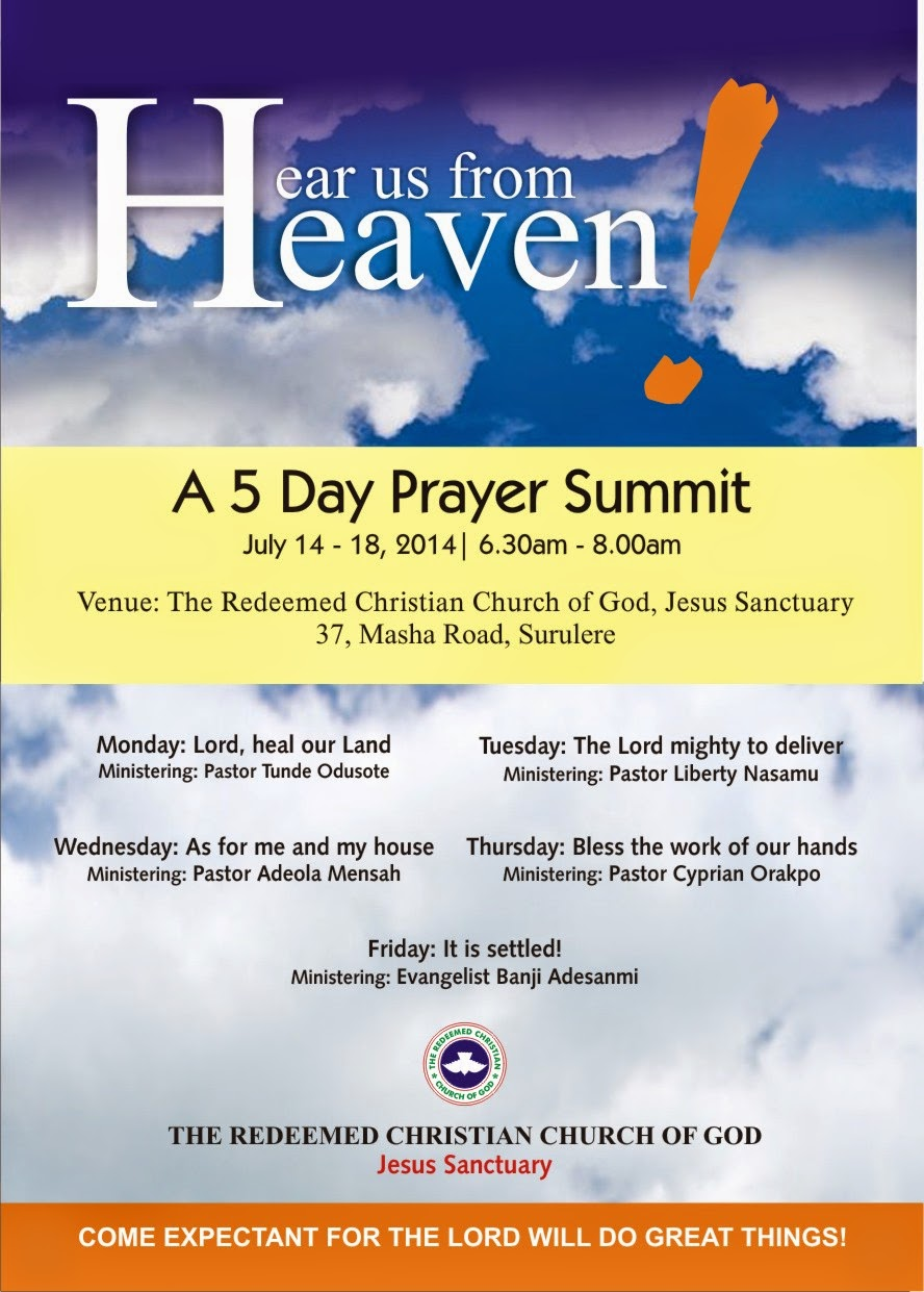 It is NOT BY POWER: Prayer Points