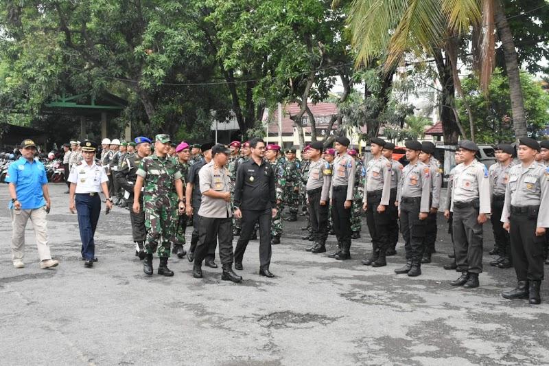 Apel Gelar Pasukan Operasi Lilin Semeru Tahun 2018 Di Kota Pasuruan