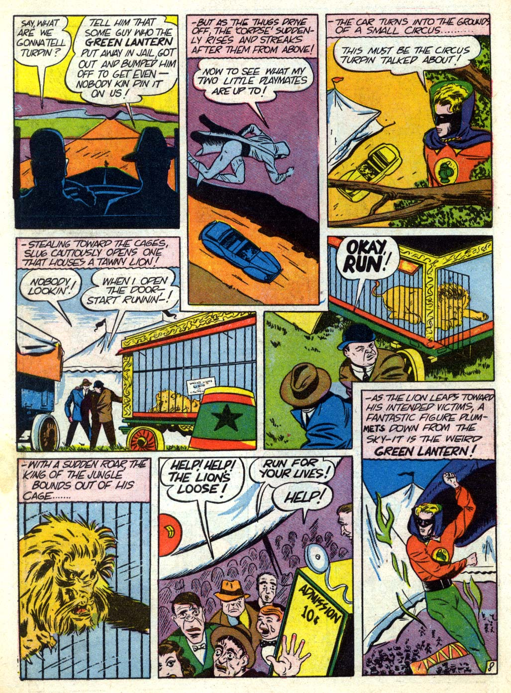 Read online All-American Comics (1939) comic -  Issue #26 - 10
