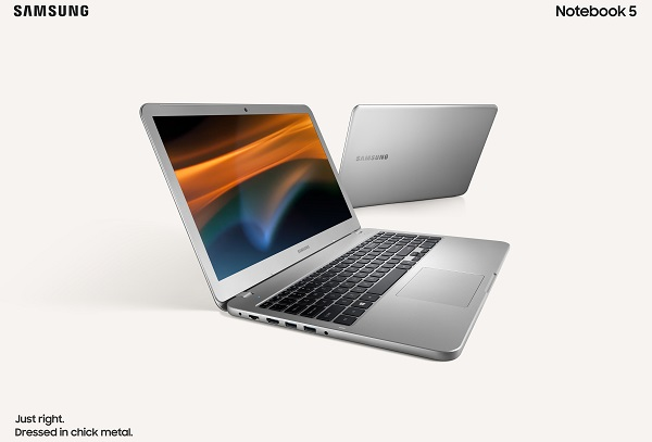 "SAMSUNG launches the Notebook 3 (14"" & 15"") and Notebook 5 (15"")"