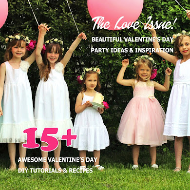 Bird's Party Ideas Magazine | The Love Issue Out Now