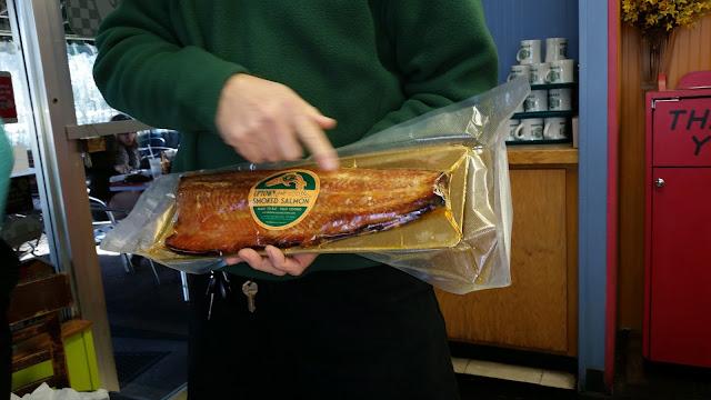 Tallahassee Florida Uptown Cafe Smoked Salmon