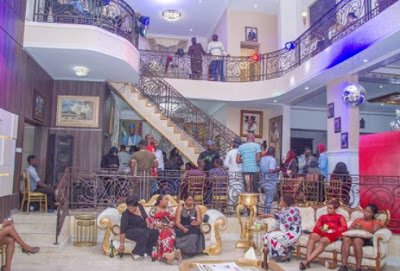 Social Lifestyle Senator, Dino Melaye Shows Off Inside Of His Beautiful Home, Which Looks Like A Mall