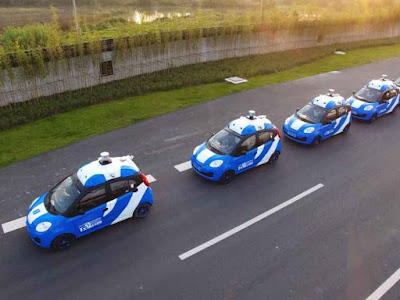 Microsoft to help Baidu's 'Android of autonomous cars' go global