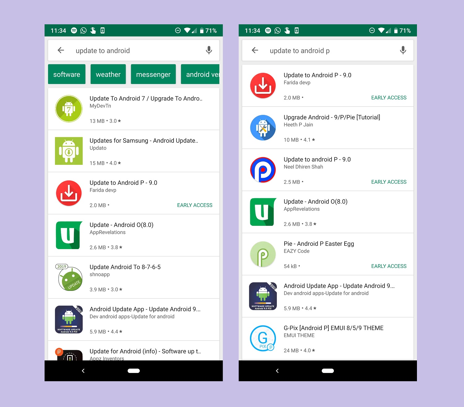 There are Actually Fake Android Software Update Apps in the Google Play Store that Users Shouldn't Install