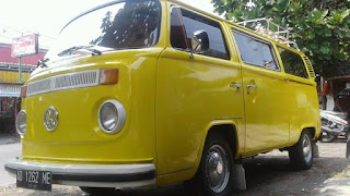Dijual VW Kombi 77 Warna Kuning GOLKAR