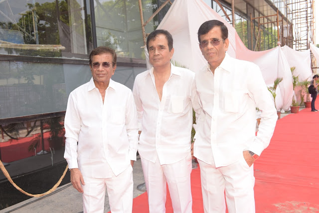 10. Abbas Mustan and Hussain during Mahurat ceremony  of the film GENIUS