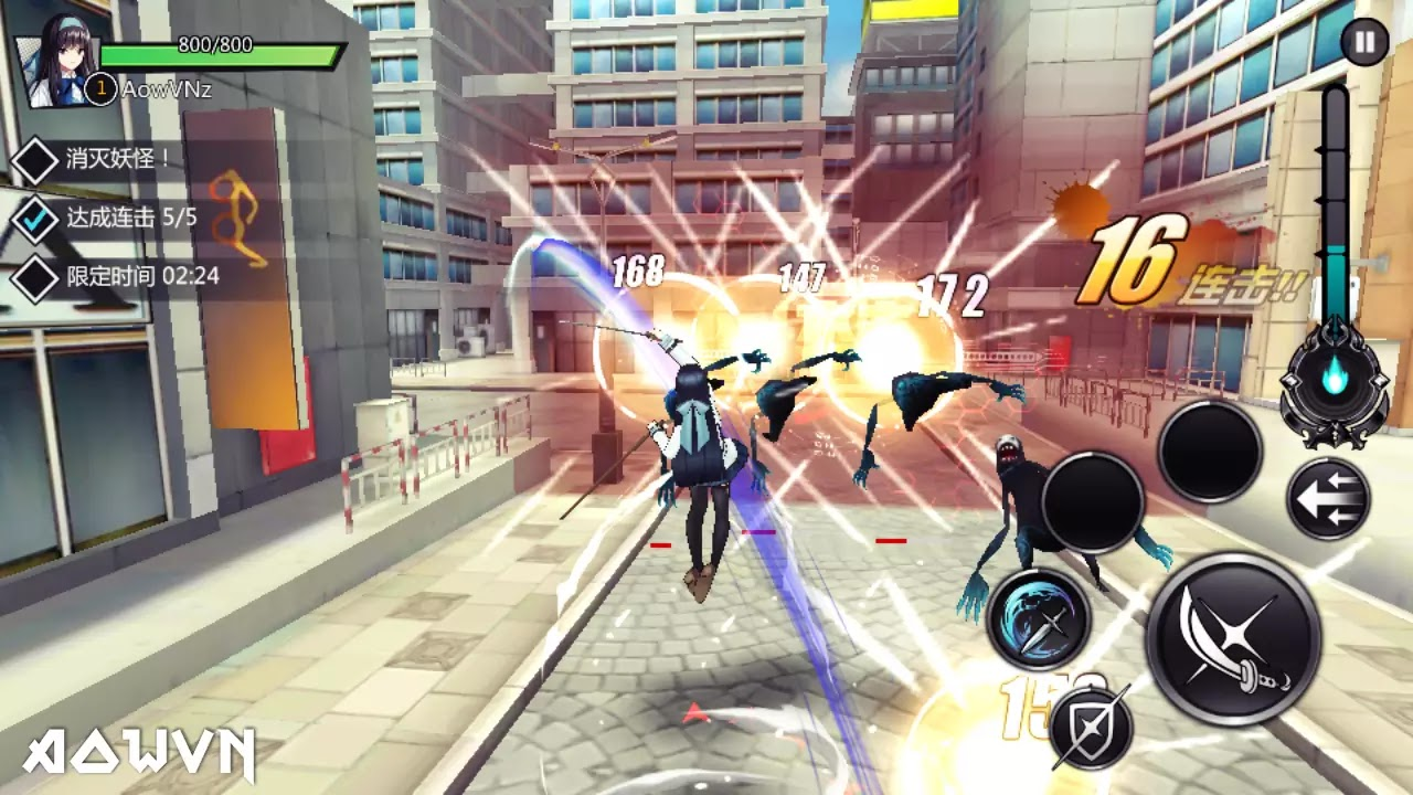AowVN%2B%252811%2529 - [ ONLINE ] Extradimensional War Kyi | Android & IOS - Game anime chặt chém cực hay + Update cách đăng kí game