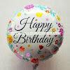 Balon Foil Bulat Motif HAPPY BIRTHDAY / Balon Foil Bulat HBD (13)