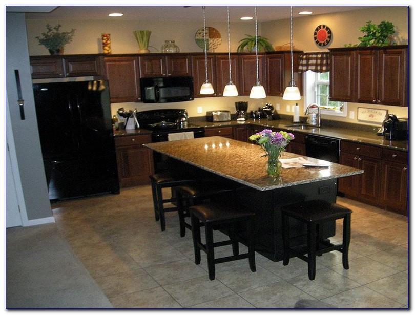 Kitchen Island With Overhang Home Interior Exterior Decor Design Ideas