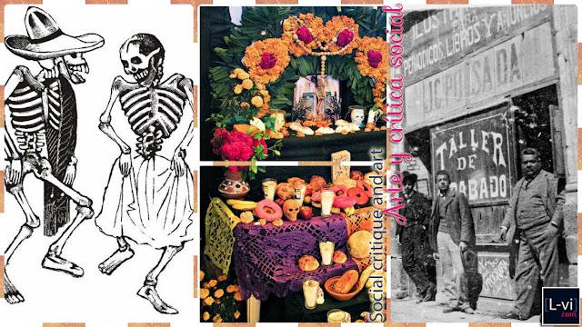 [Heroes] José Guadalupe Posada + Día de Muertos  L-vi.com